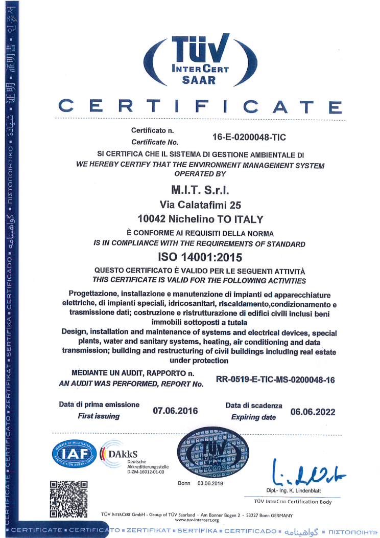 Certifications Mit